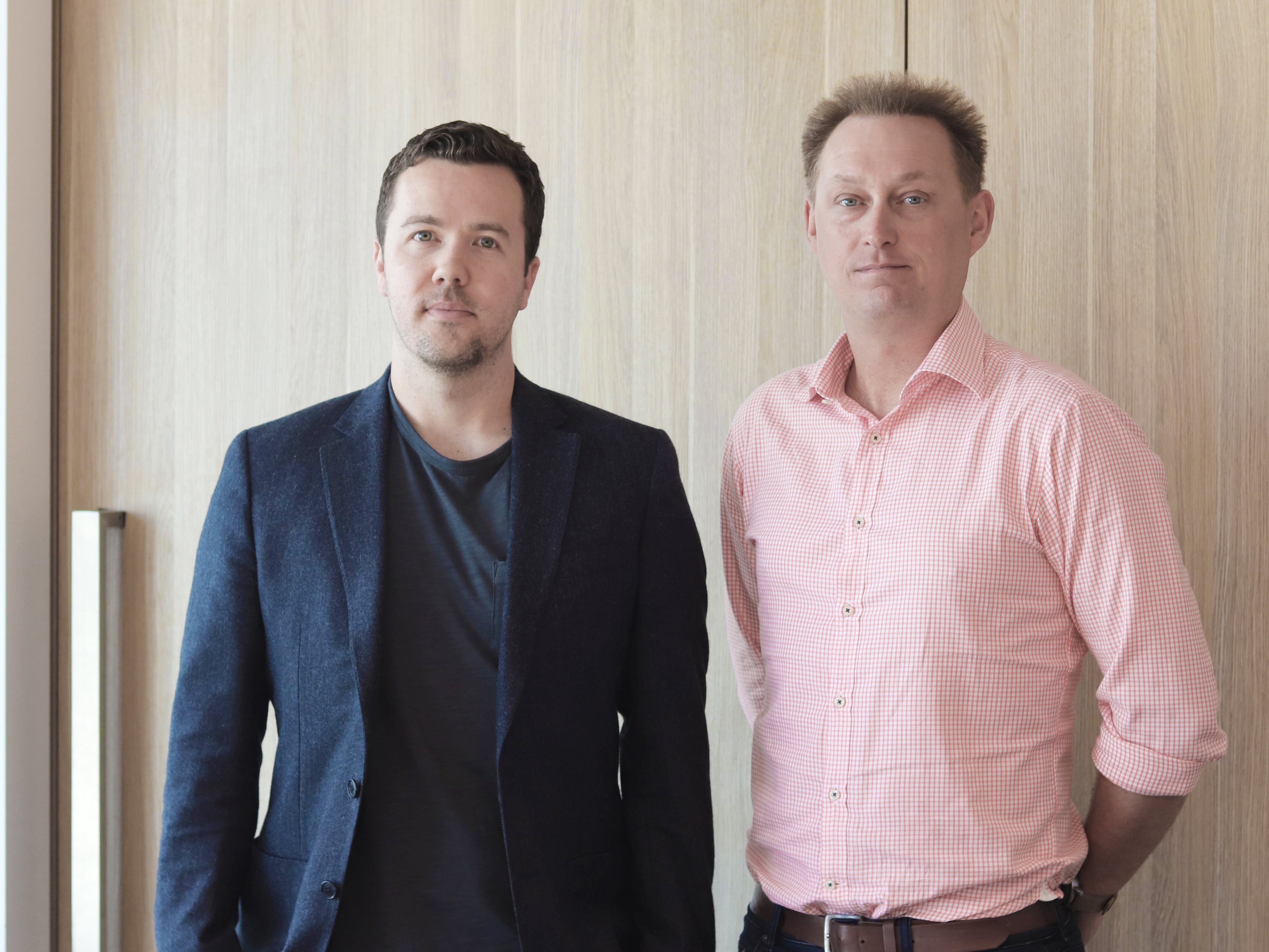 Crone Architects has appointed Ashley Dennis (left) and Martin Stacey (right) will provide new leadership to the team.  Image: Supplied