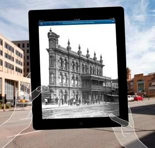 Augmented reality app brings forgotten architecture to life in