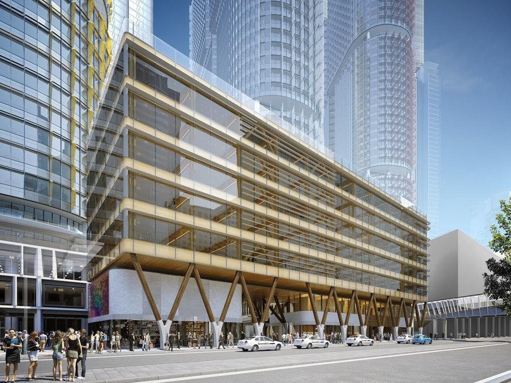 Australia's first CLT commercial building in Barangaroo