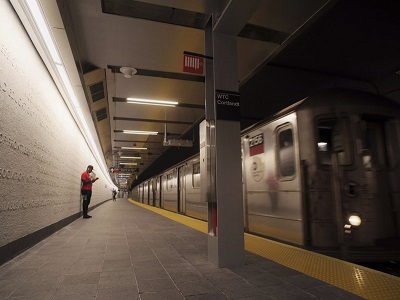 9 11 Subway Station Reopens After 17 Years Architecture