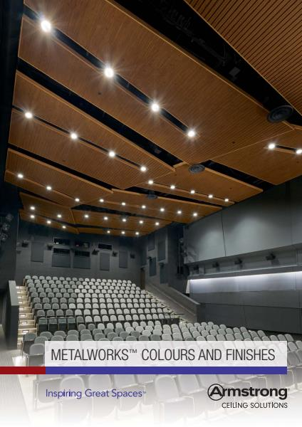 Metalworks Colours and Finishes