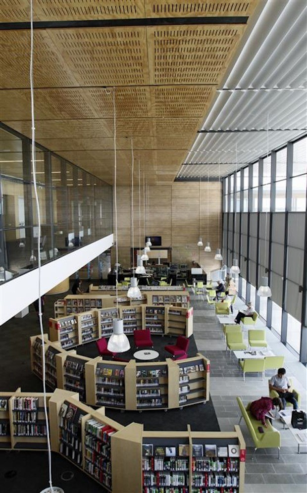 Australian library wins international public library of for International architecture and design