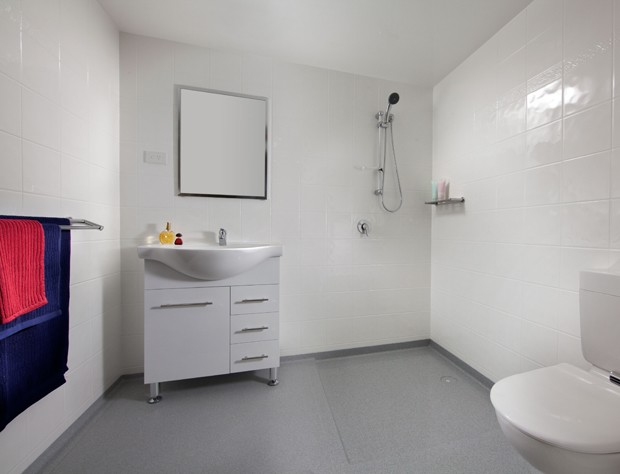 The prefabrication of modern bathrooms architecture and design Design bathroom online australia