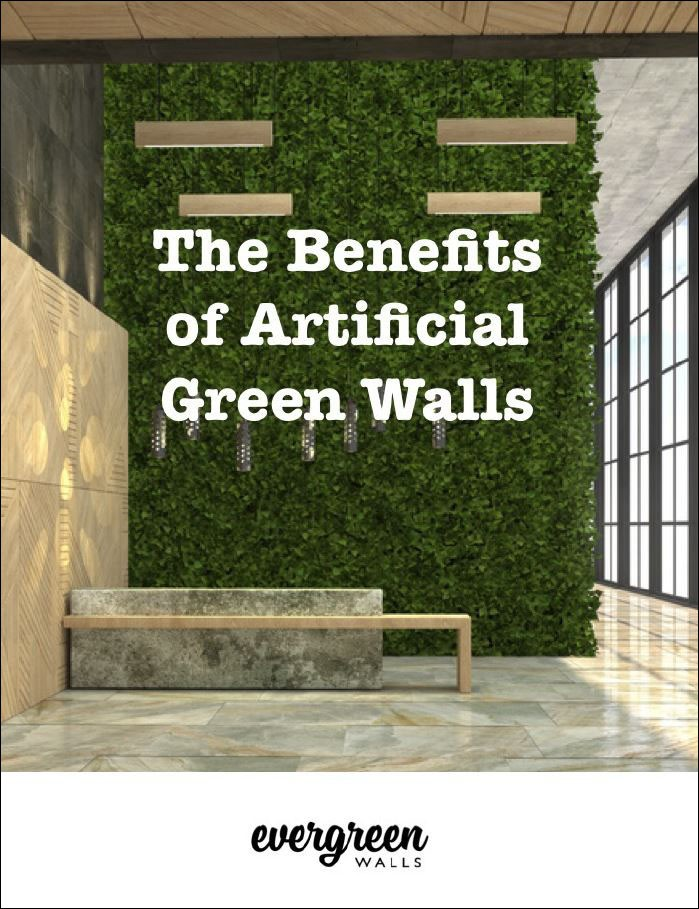 The benefits of artificial green walls architecture and for Green wall advantages
