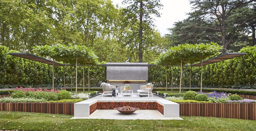 Landscape architect wins Melbourne Show Garden Gold Medal ...