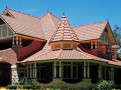 It's important to ensure the correct style of roof for the particular period of the home