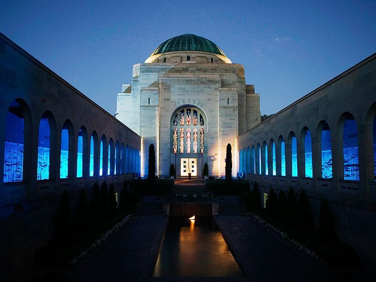 The Australian War Memorial in Canberra has been named the number one landmark in Australia and the South Pacific. Image: Australian Traveller