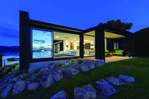 Modern barn form wins new zealand supreme national design for Design house architecture ltd