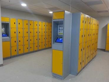 Hi Tech Keyless Lockers Installed At Auckland Airport