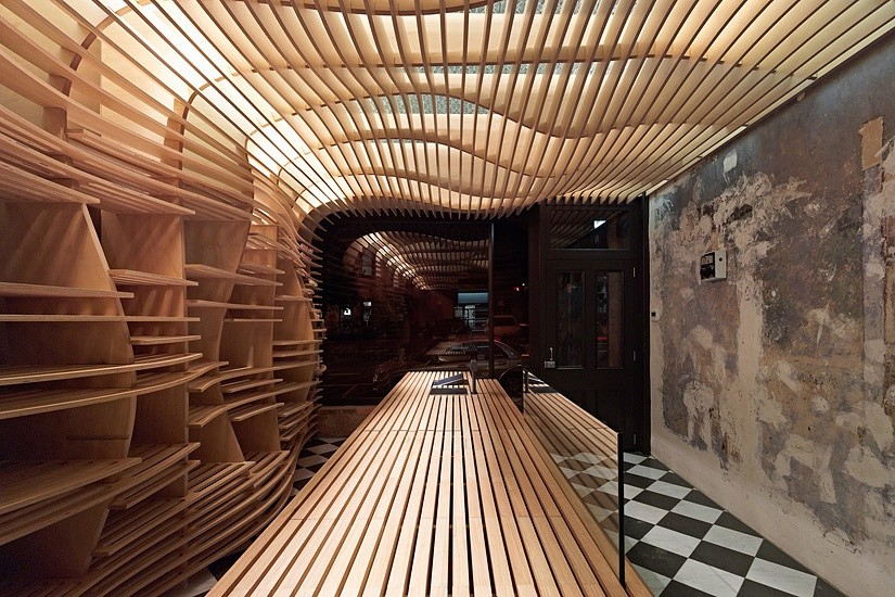 11 ways with plywood for every room and application for Architecture organique