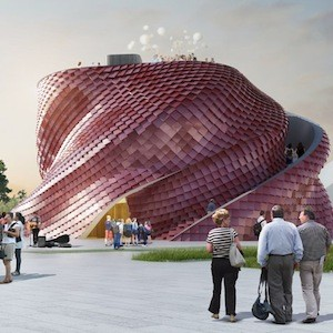 Daniel Libeskind Designs A Twisted Milan Expo Pavilion