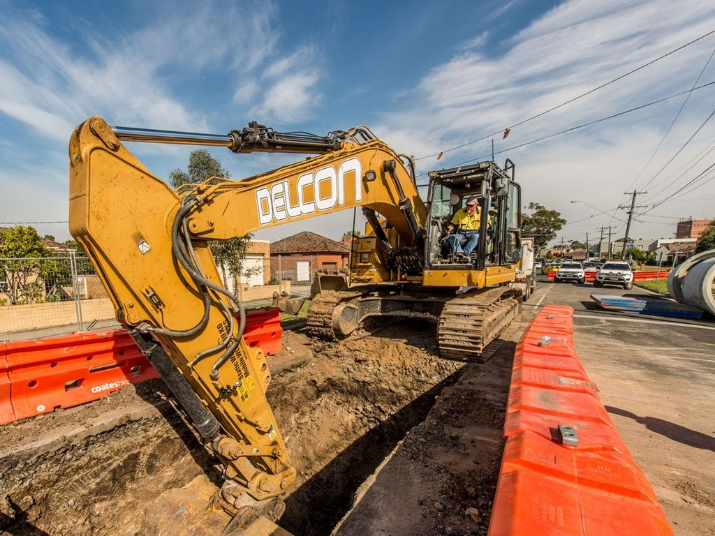 Glenroy Main Drainage Upgrade Project by Delcon Civil received the award for 'Project Value $5 Million - $10 Million'. Image: Delcon Civil