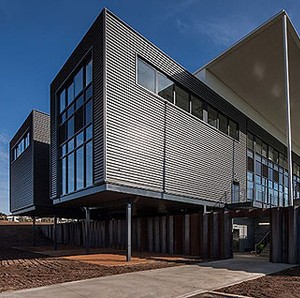 Cox Architecture delivers in 'boxes' for University of Canberra