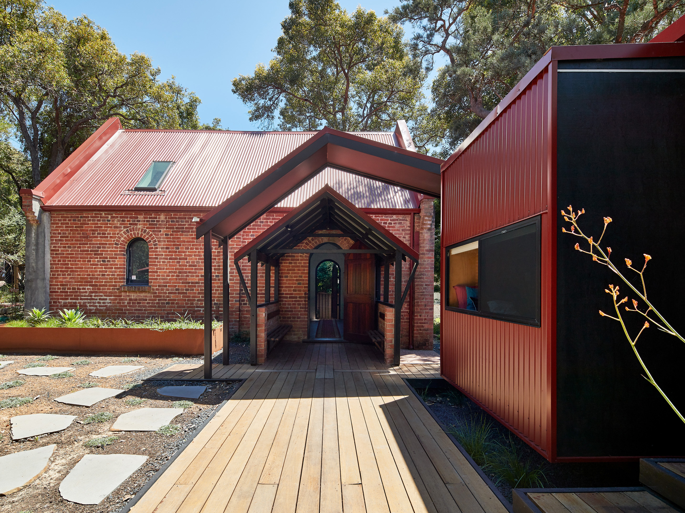 Perth house takes inspiration from century-old Anglican church