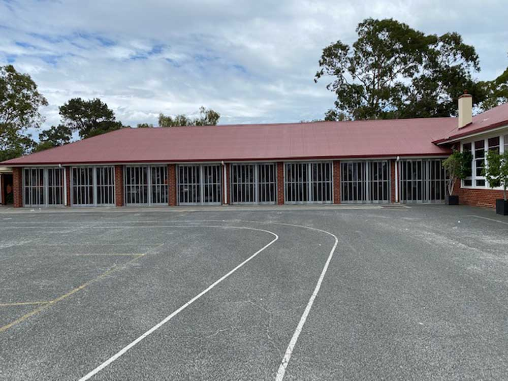 Kensington Secondary School featuring ATDC's folding closures