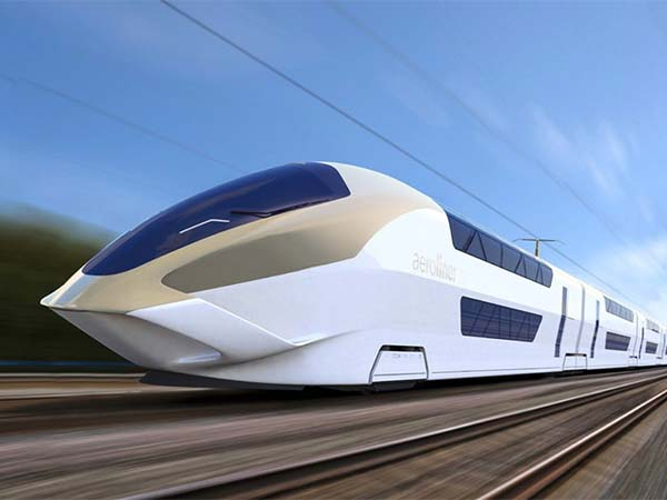 China has had a rapid rollout of trains moving up to 350km/h.
