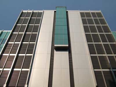 A more efficient specification solution for architectural louvres is based on the needs of the building