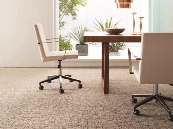 Orvie carpet tiles for office fitouts