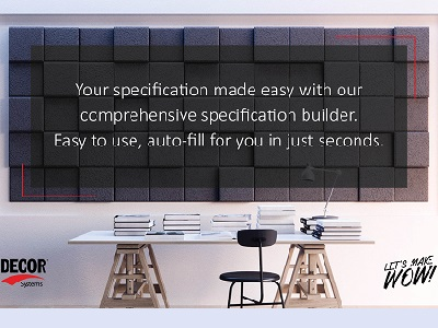 Specification Builder
