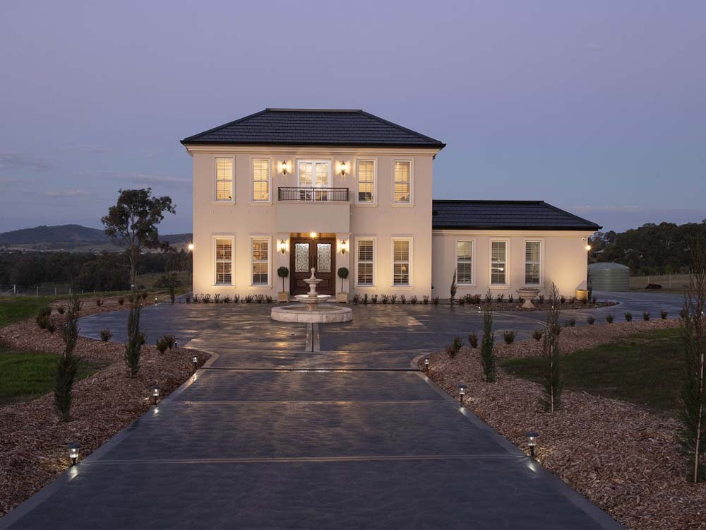 French Provincial Home In Hunter Valley Features Terracotta Roof Tiles Architecture Design