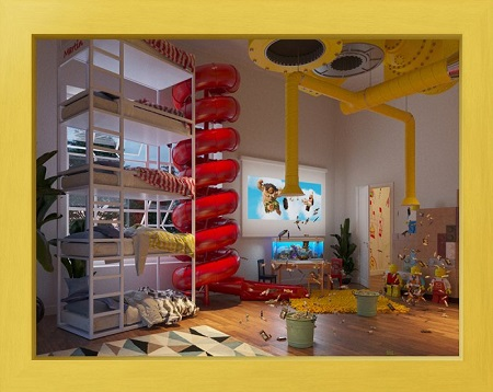 modern interior design styles pop design for bedroom.htm 7 dream bedroom designs by kids from all over the world  7 dream bedroom designs by kids from
