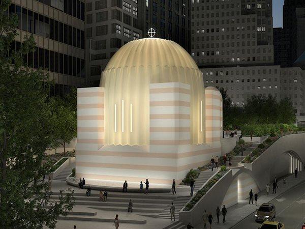 Calatrava S Greek Orthodox Church At World Trade Center