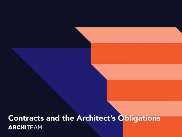 The seminar will examine the Client Architect Agreement