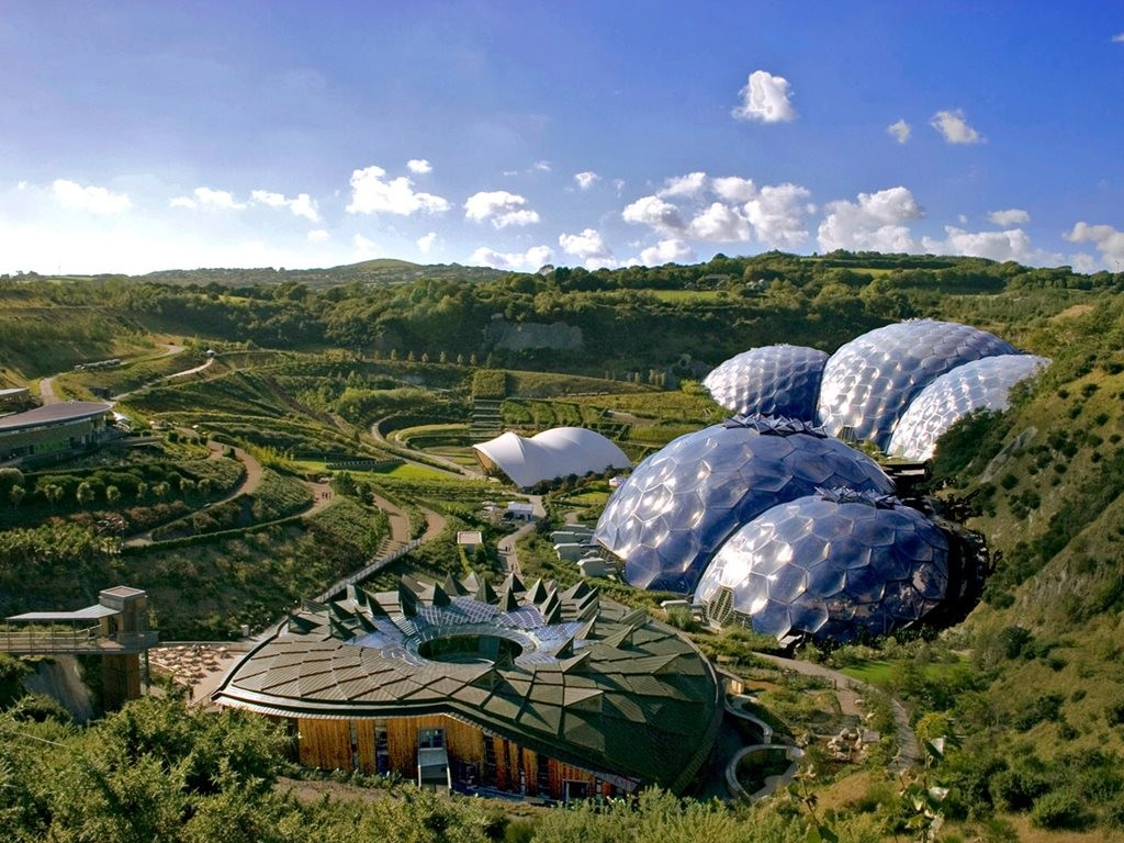 The Tasmanian capital is close to getting its own biodome structure, courtesy of the UK-based Eden Project, the home of the original biodome. Image: www.edenproject.com