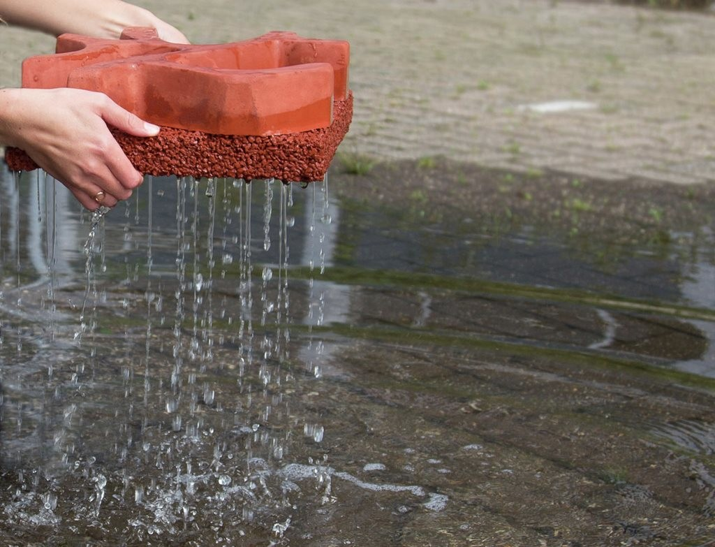 Thirsty Permeable Concrete Hailed As Future Of Flood