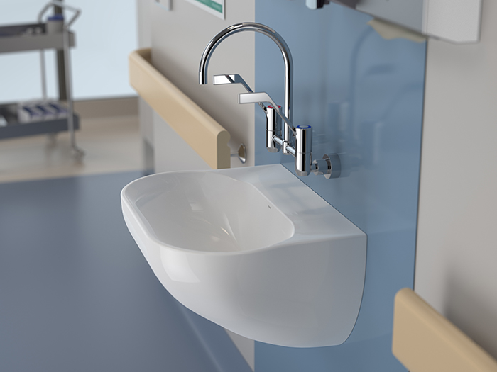 Caroma G Series+ infection control tapware