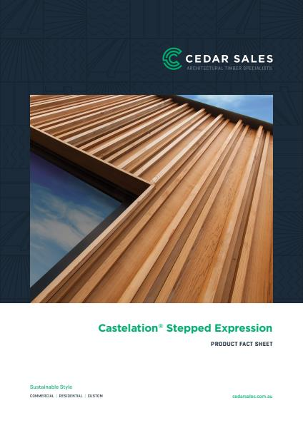 Castelation Stepped Expression Fact Sheet