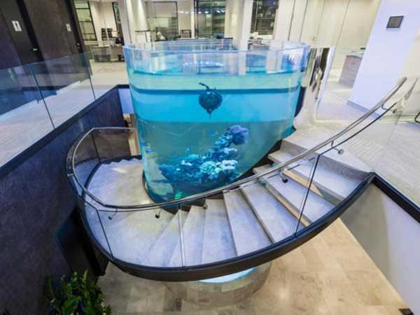 Tempershield Glass Specified For Balustrading On Spiral
