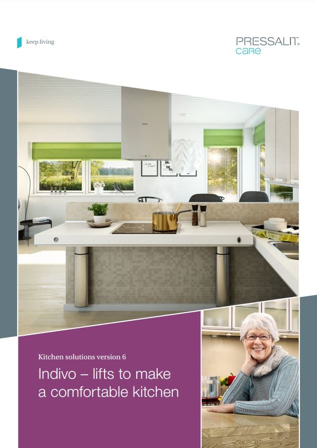 Indivo Kitchen System Allows Height Adjustability Of