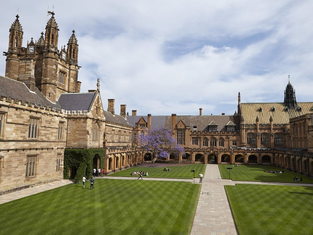 The University of Sydney has placed before The University of Melbourne in the annual survey which rates the top universities for architecture based on academic reputation, employer reputation and research impact. Image: The University of Sydney