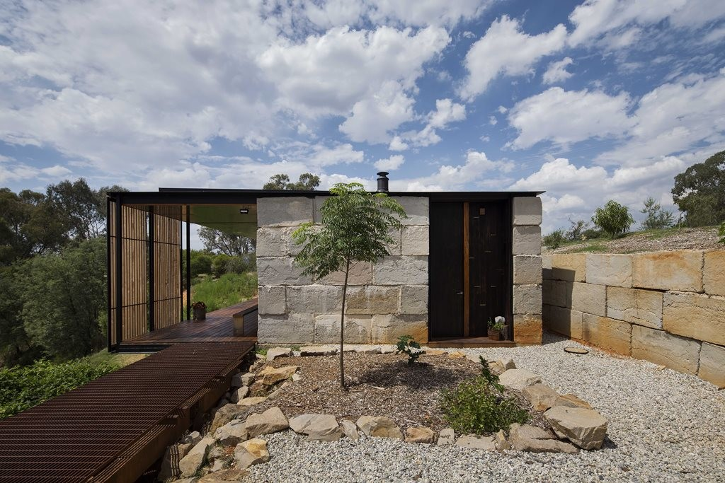 Waste not, want not: Sawmill House by Archier