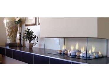 Gas heaters in a contemporary design
