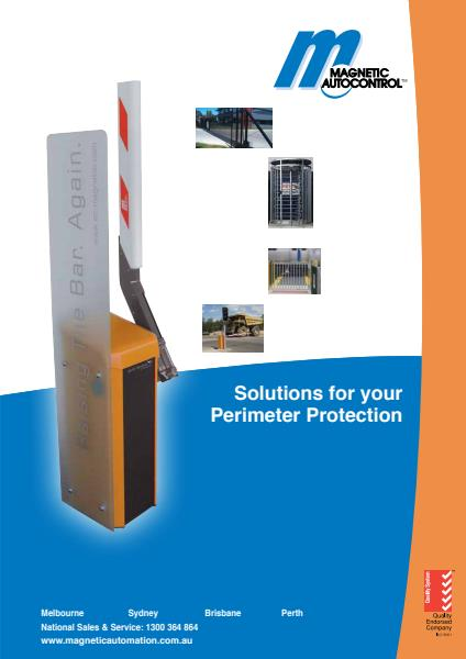 Magnetic Automation Perimeter Protection Solutions Brochure
