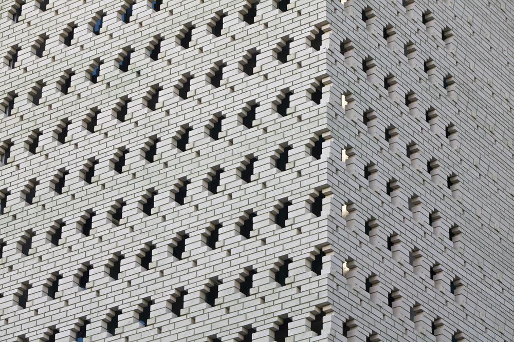 Brick Brise Soleil Eight Perforated Brick Facades