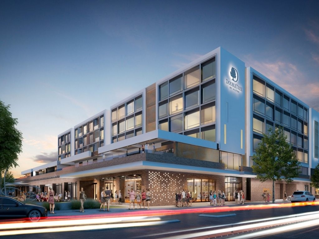 Double Tree Hilton, Freemantle designed by Designinc