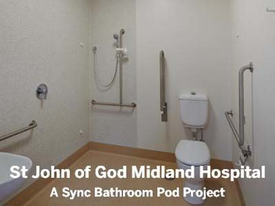 A Sync health pod at St John of God Midland hospital