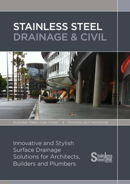 Stainless Steel Drainage and Civil Corporate Brochure
