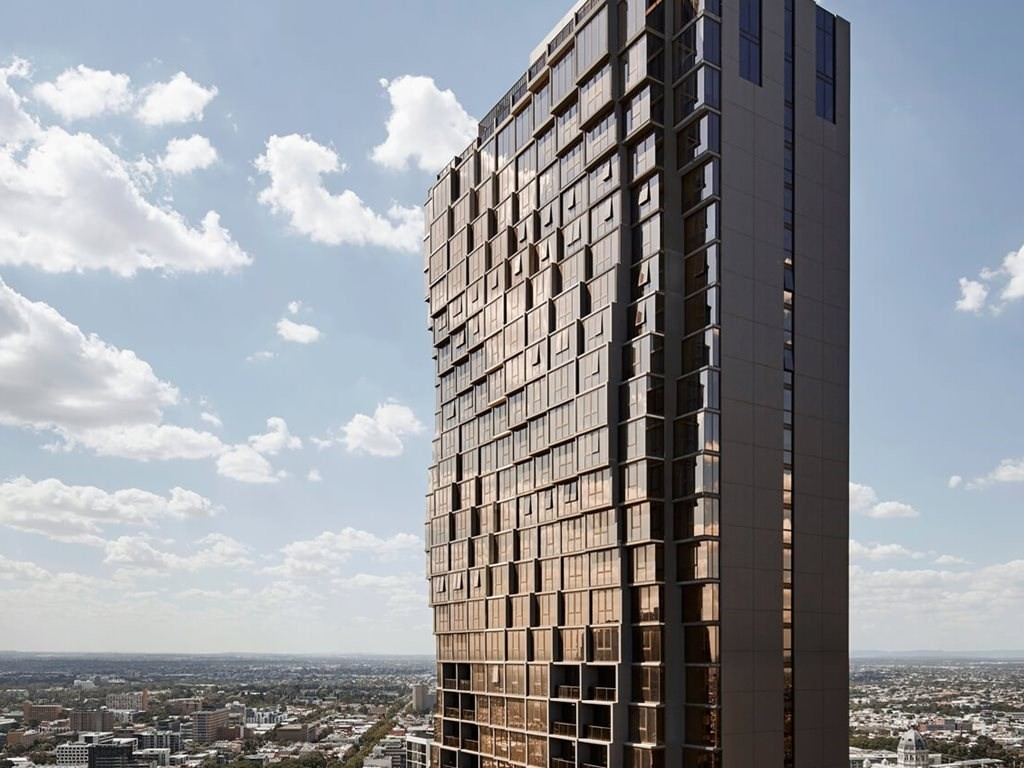 Abode318, Melbourne by Elenberg Fraser and Disegno has been named in the top 10 of the 2015 Emporis Skyscraper Awards. Image: PDG