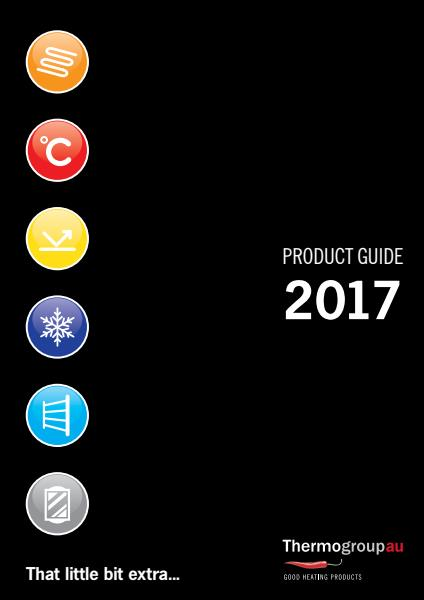 Thermogroup product guide