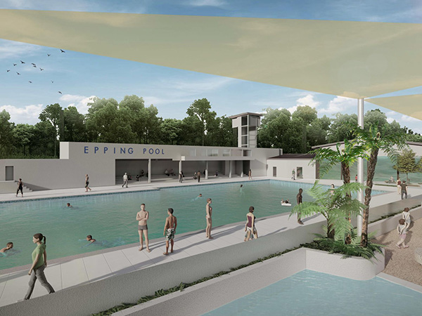 Parramatta Council releases new Epping pool concept designs