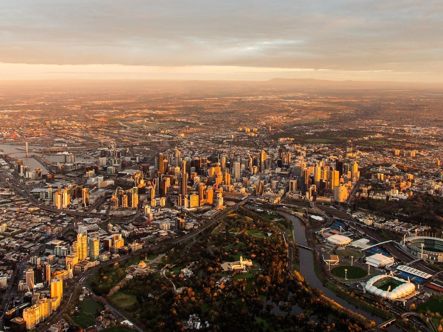 Melbourne's ambitions to be a '20-minute city' aren't likely to be achieved by its recently updated planning strategy. Photography by Nils Versemann