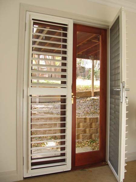 ATDC's lockable security shutters for hinged doors