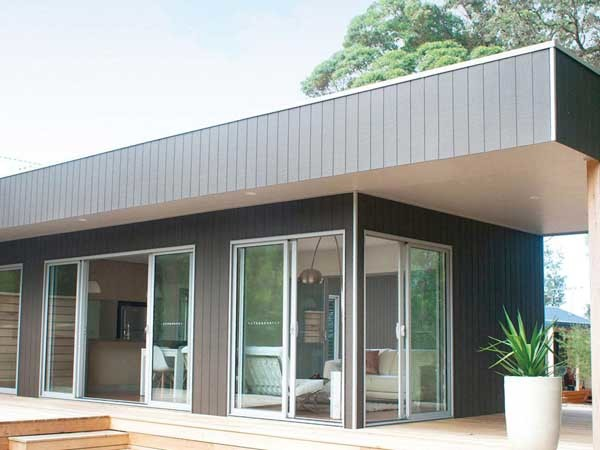 Beaumont Concepts specified Weathertex for the Balnarring Beach project