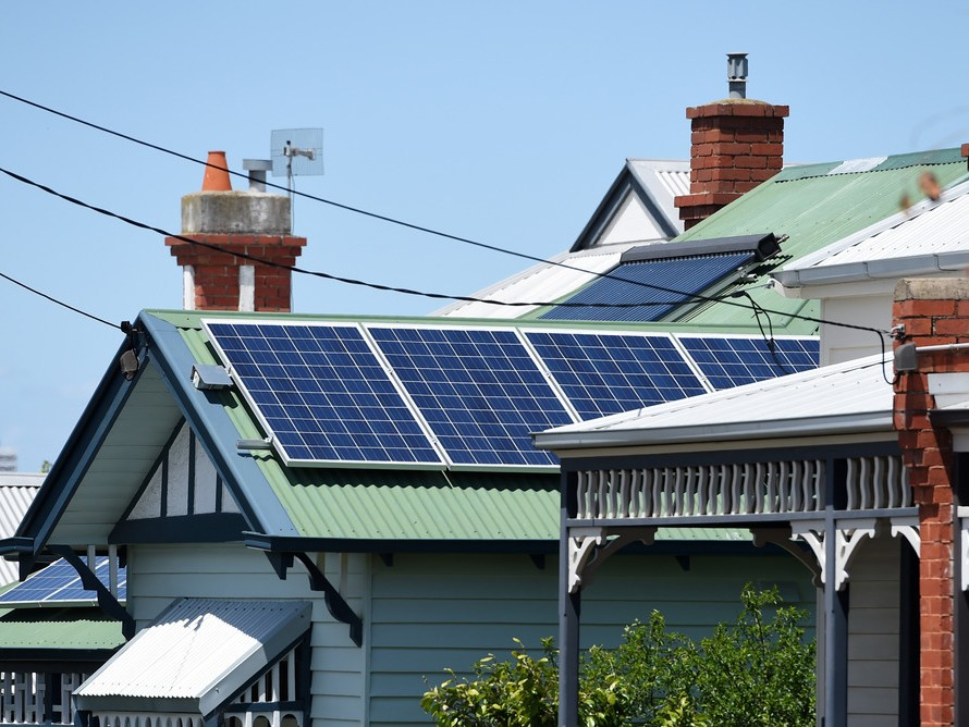 Some states are poised for a 500% growth in rooftop solar panels by 2030. Photography by Tracy Nearmy