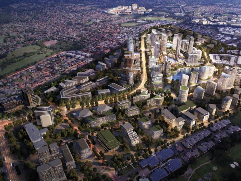 Sydney S Norwest To Become Smart City Under 3b