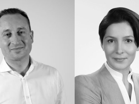 Arcadis has announced the appointment of Guy Raithby-Veal (left) as sustainability team leader, and Anna Apollo (right) as senior sustainability consultant. Image: Supplied